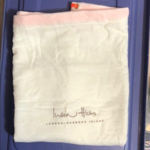 India Hicks Flannel Bag